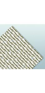Lot de 20 serviettes jetables Cheers or 33 x 33 cm ouate