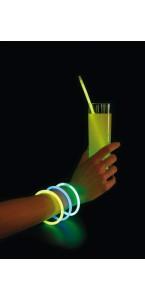 Lot de 3 bracelets mix-couleurs 21 x 0,5 cm