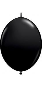 Lot de 50 ballons double attache en latex noir