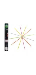 Lot de 50 Bracelets lumineux fluorescents multicolores