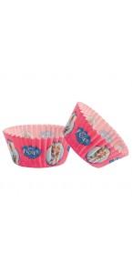 Lot de 50 Caissettes pour cupcake Reine de Neiges  5 cm x 3 cm