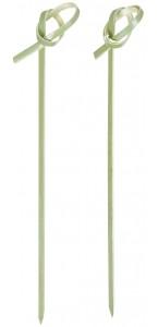 Lot de 50 piques bambou jetables 12,2 cm