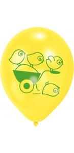 Lot de 6 Ballons Ferme en latex