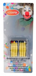 Lot de 6 crayons de maquillage gras