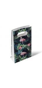 Lot de 6 pochettes-cadeaux Tropical 10,5 x 18 cm