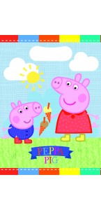 Lot de 6 sachets cadeaux Peppa Pig