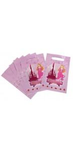 Lot de 6 sachets cadeaux Princesse