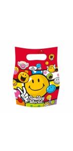 Lot de 6 sachets cadeaux Smiley Comic