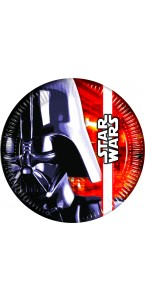 Lot de 8 assiettes Star Wars D 23 cm