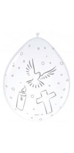 Lot de 8 ballons communion