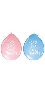 Lot de 8 ballons Peppa Pig