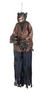 Loup garou suspendu pour déco Halloween 150 cm