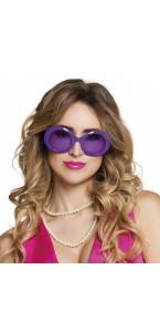 Lunettes Jackie violet fluo