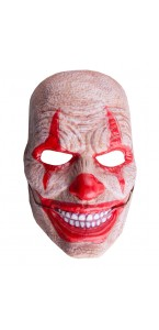 Masque clown avec bouche mobile Halloween