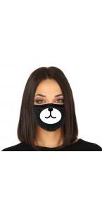 Masque de protection tissu nez de chien