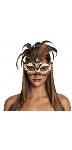 Masque yeux Vaudou Manba Halloween