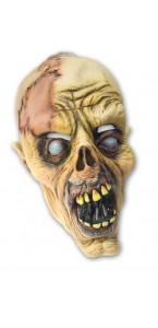 Masque zombie putréfié Halloween