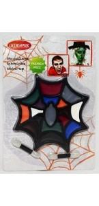 Maquillage toile d'araignée  halloween