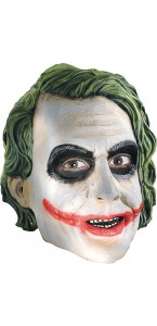 Masque 3/4 Le Joker adulte