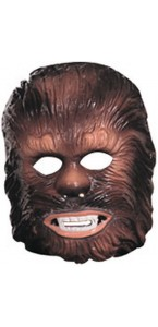 Masque adulte PVC Chewbacca