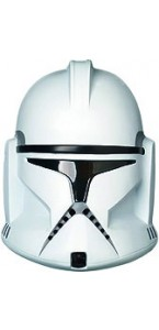 Masque adulte PVC Clone Trooper