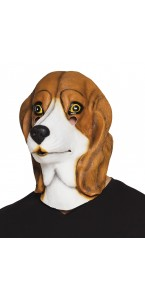 Masque Beagle en latex