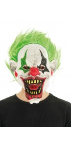 Masque Clown effrayant Halloween en latex