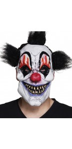 Masque Clown Scary en Latex Halloween