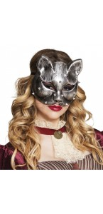 Masque de chat steampussy