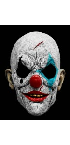 Masque de clown d'horreur intégral Halloween