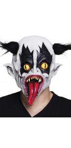 Masque de clown Evil  en Latex Halloween