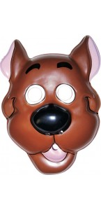 Masque Scoobi-doo adulte