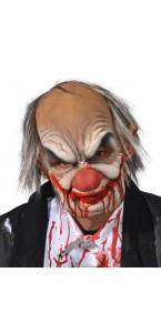 Masque Smiley bouche articulée Halloween