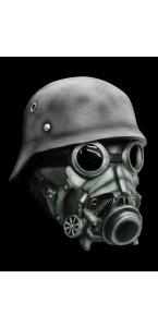 Masque Soldat de l'Apocalypse Halloween