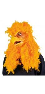 Masque Super poulet-bouche articulée Halloween