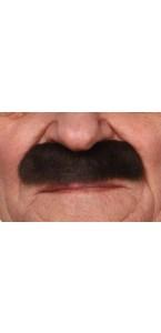 Moustache Officier brune