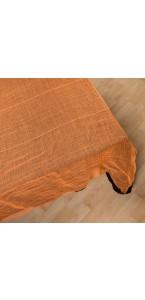 Nappe gaze orange Halloween 180 x 75  cm