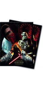 Nappe pliée Star Wars en plastique 120 x 128 cm