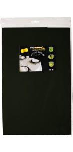 Nappe ronde noire papier 240 cm