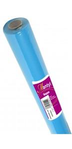 Nappe turquoise  papier épais spunbond 10m