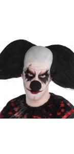 Nez de clown noir Halloween