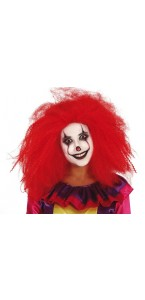 Perruque Clown Carnival Halloween