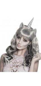 Perruque Fantôme Unicorn Halloween