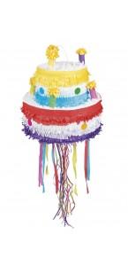 Pinata Gâteau d'anniversaire 31 x 39 cm