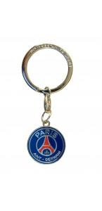 Porte-clé PSG métal demi-ballon