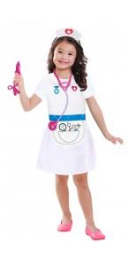 Panoplie Infirmière avec accessoires 3/6 ans