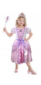 Panoplie Princesse rose  avec accessoires 3/6ans