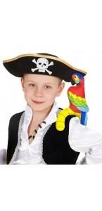 Perroquet pirate gonflable