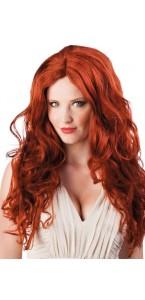 Perruque cheveux longs Véronica châtain