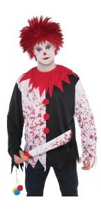 Perruque Clown fou Halloween